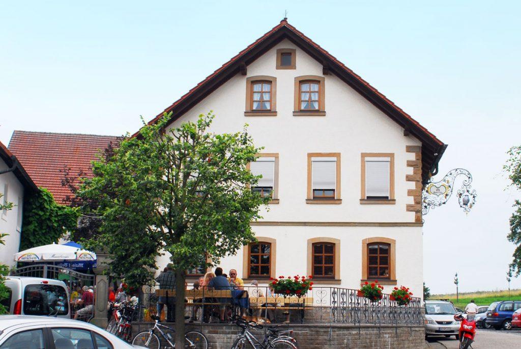 Frankenwei Wohnau Gaststätte